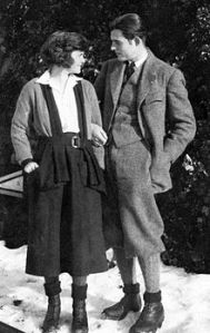 Ernest and Hadley in Switzerland, 1922. Photo: Wikimedia