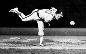 Nolan Ryan, an all-star pitcher and one of the masters of the curve. Photo credit: LA Times