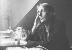 Virginia Woolf at Monk's House. Photo credit: unknown.